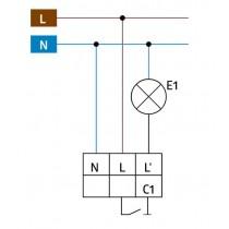 Schéma du détecteur de mouvement Luxomat 92194
