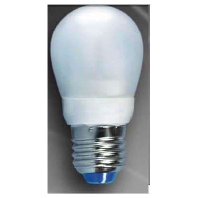 Ampoule economique spherique boule E27 7w/840
