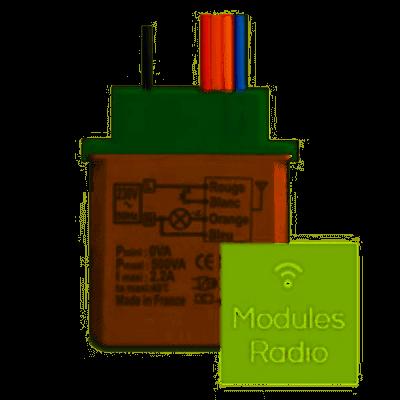 Yokis Télévariateur 5454454 temporisable radio classic MTV500ER