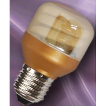 Lampe economique spherique dorée E27 7w/840