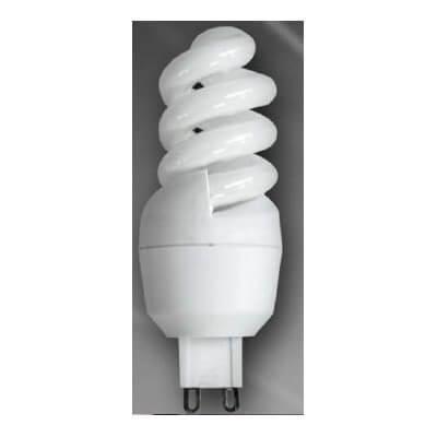 Lampe flucompact G9 9w/827