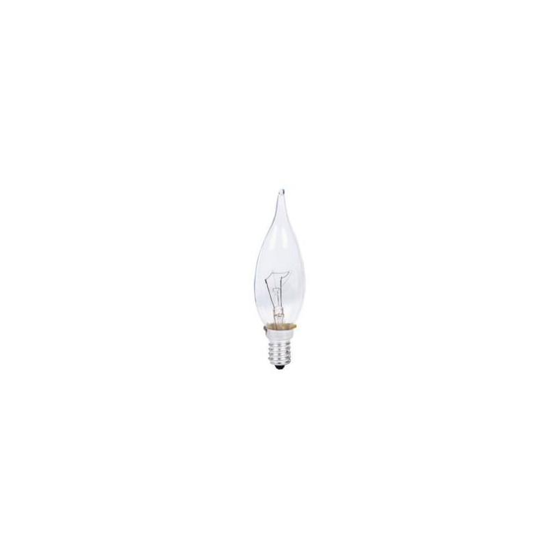 Lampe flamme coup de vent E14 60w