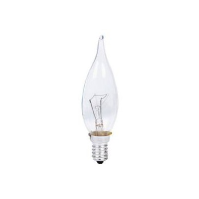 Lampe flamme coup de vent E14 60w claire