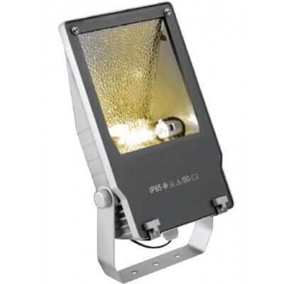 Projecteur a iodure métallique exterieur 150w avec lampe etanche