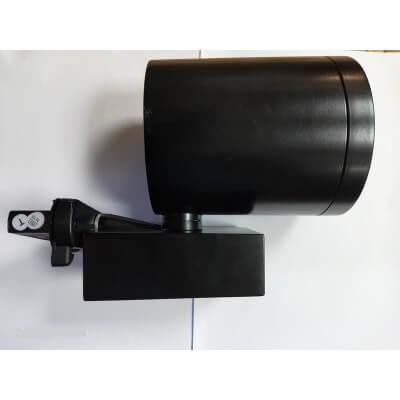 Projecteur Sylvania Concord Beacon orientable noir G12 35W Blanc chaud 3000k 4000LM sur rail triphasé 2657964