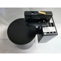 Projecteur Concord orientable noir ultra-conpact pour rail 3 phases