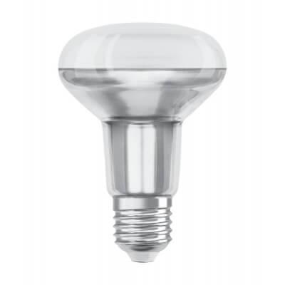 LAMPE OSRAM LED PARATHOM R80 9.1w équivaut à 100w 2700k(827/Blanc Chaud) 36D E27 670lm