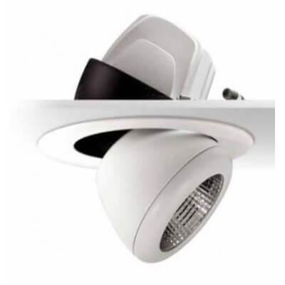 Encastré LED orientable Blanc TARGETTI CLOUD 45W 3000K Blanc chaud 4257LM 1T3614