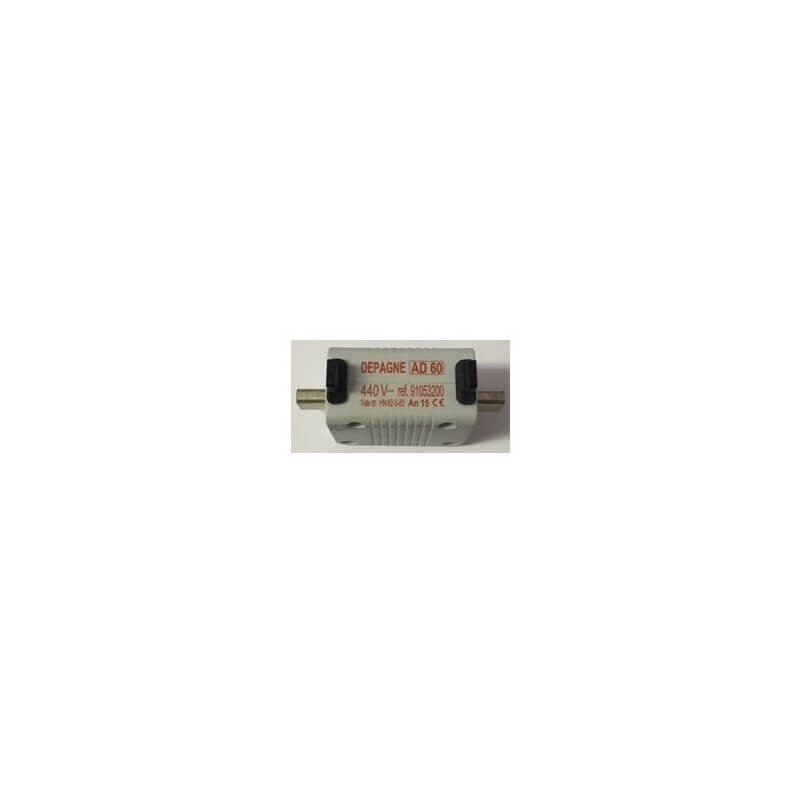 Fusible AD60 440V Taille OO 60A Depagne 91053200 chez KFMS Eclairage