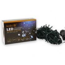 LAMPES DE NOËL À LED AVEC PROGRAMMATEUR K100 IP44 BLANC 10 MÈTRES
