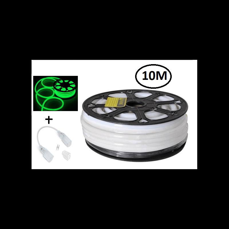 bobbine de eon flexible led vert 80led / m 24v