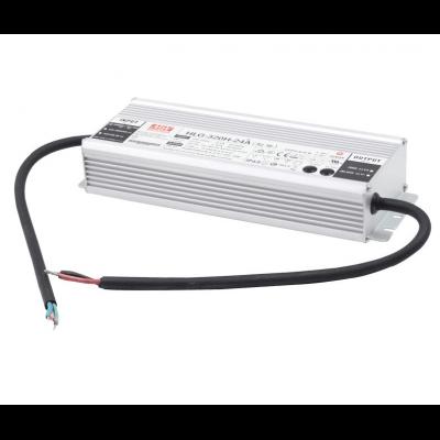 Alimentation métallique LED Mean Well 320w 24v Etanche IP65 HLG-320H-24A