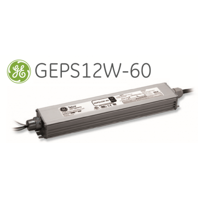 Alimentation métallique Tétra LED Systems Power Supply GEPS12W-60M 12V 60W IP66