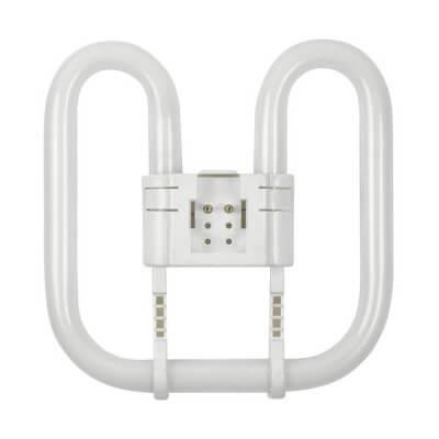 Lampe PHILIPS PL-Q 16w/830 2P  2D GR8 blanc chaud  987425