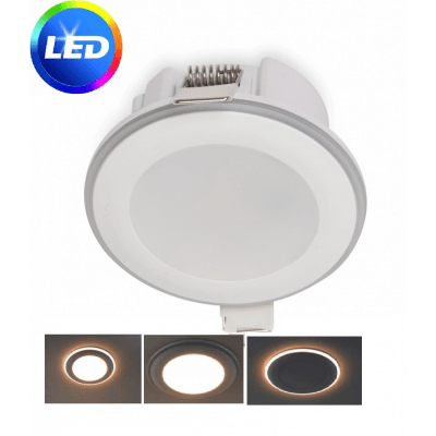 Spot encastrable LED HALO 5.5W 3000K Blanc chaud 420lm diam 65mm