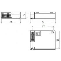 Platine d'alimentation electronique iodure 70w CL1
