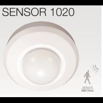 SENSOR1020 Détecteur de mouvement plafonnier 360° 1000w 20M Max
