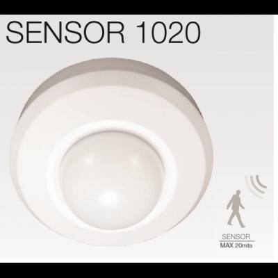 SENSOR1020 Détecteur de mouvement plafond PIR 360° 1000w 20M Max