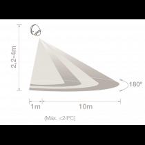 Distance de détection 11m detect45