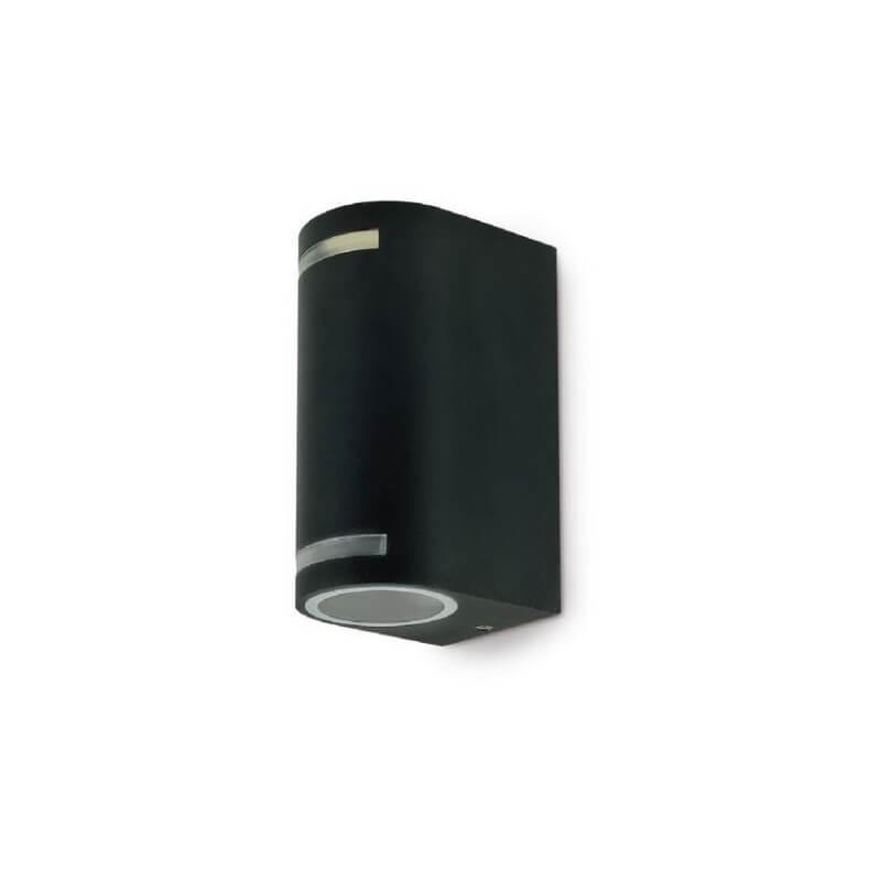 Applique de Jardin Quazar 9 black  2x11W GU10 IP44