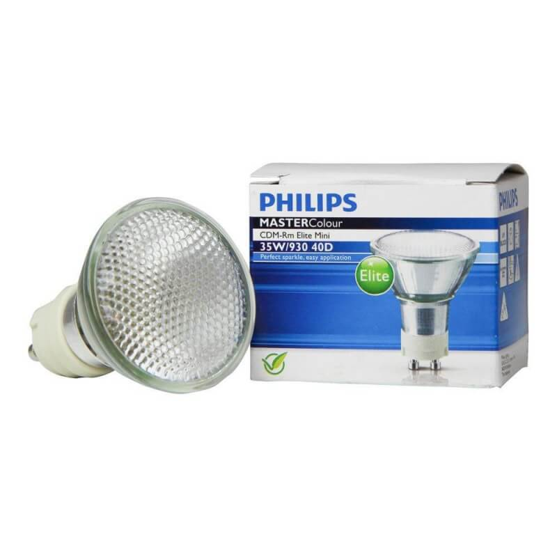 PHILIPS MASTERColour CDM-Rm Elite Mini 35W/930 GX10 MR16 40D 163060
