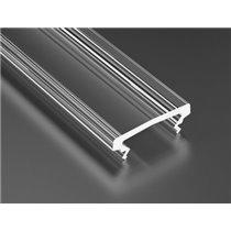 Cover Profile Lumines HIGH Transparent 2.02 m