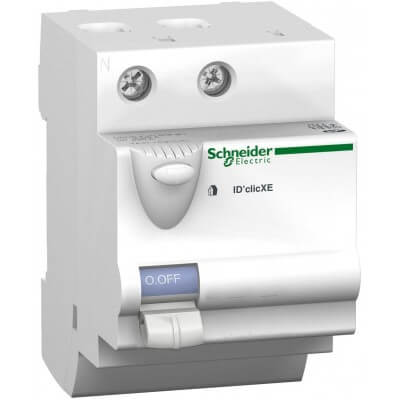 SCHNEIDER 16160 Interrupteur différentiel embrochable ID'Clic 40A 30mA type AC Duoline