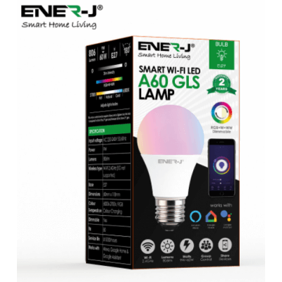 Ampoule connectée Bluetooth RGB CCT dimmable 9W équivalent 60W E27 806lm 180° LED RGB CCT dimmable 837876