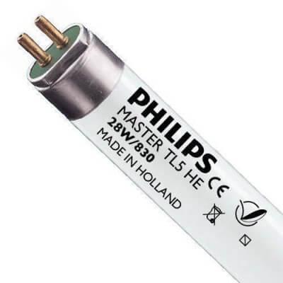 Tube Philips Master TL5 HE 28w/830 Haute Efficacité115cm  639462