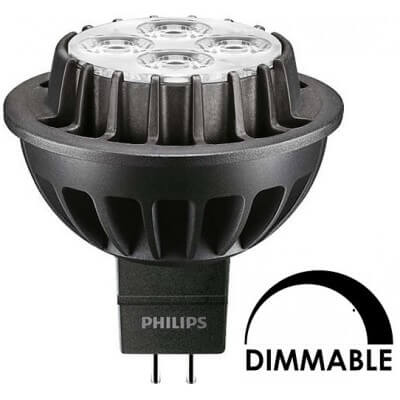Philips MASTER LED spotLV D 7W-40W 830 MR16 36D Dimmable