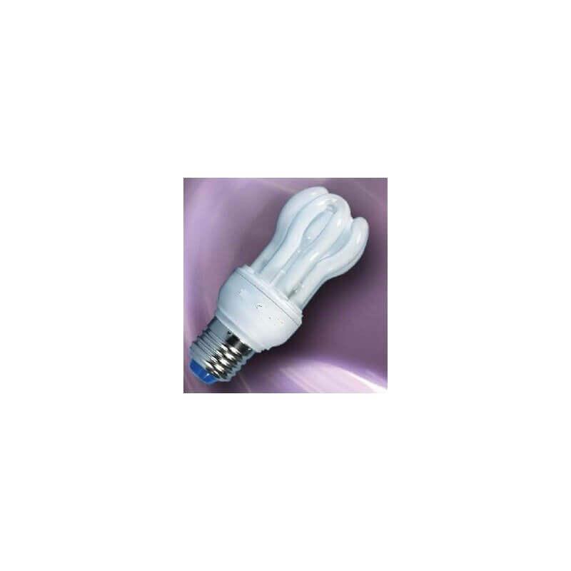Lampe fluocompact mini E27 11w 8000h 2700°K