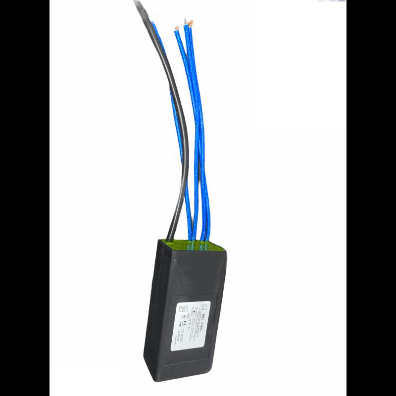 Transformateur électronique basse tension halogène Qlt A300c 100-300w 12v 230v IP65