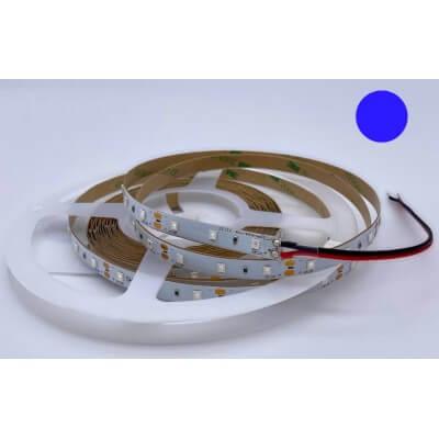 Ruban LED 12V 60LED/m Couleur BLEU 6W/m  5m