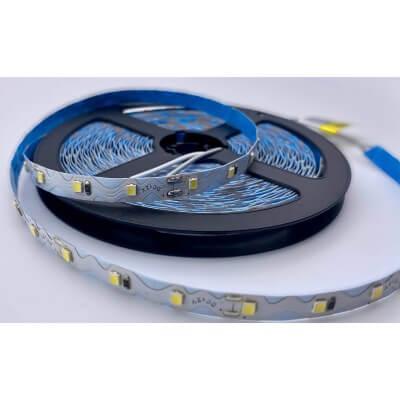 Ruban LED ZIGZAG 12V 60LED/M 6500K Blanc lumière du jour  5m