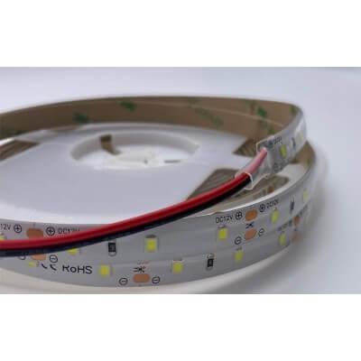 Ruban LED 12v 60LED/M 7000K Blanc lumière du jour 12w/m Etanche IP64  5m