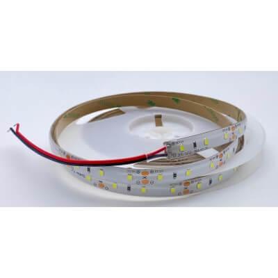 Ruban LED 12v 60LED/M 7000K blanc lumière du jour 12w/m 5M