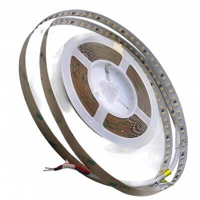Ruban LED 24V 128Led/m 4000K Blanc 12w/m 5m