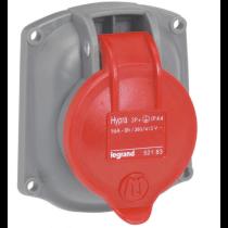 LEGRAND HYPRA 0 521 83 socle de tableau triphasé transfert direct étanche IP44 16A 380-415V