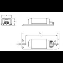 ELT AC1 32/23-B2-SC Ballast ferromagnétique 1*  TL-E 32w 0.45A