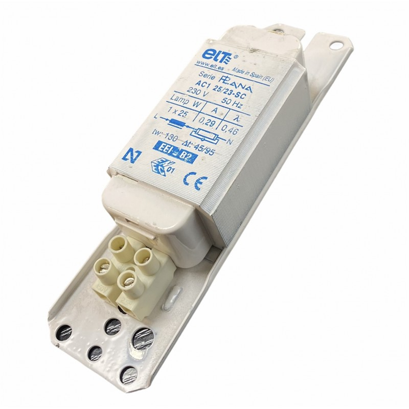 ELT AC1 25/23-SC Ballast ferromagnétique 1x25W