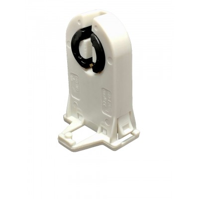 Douille G13 traversante sans tenon d'arrêt - Axe de lampe 23mm - forme T8 ou T12