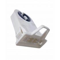 Douille traversante sans tenon d'arrêt- Axe de lampe 23mm