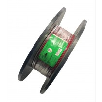 Cable audio HP HI-FI 2x0,75mm2 300m rouge/noir 815899