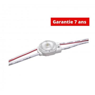 Chaîne de 40 modules 0.36w/module WHITE 6500K  12V  IP67 170°