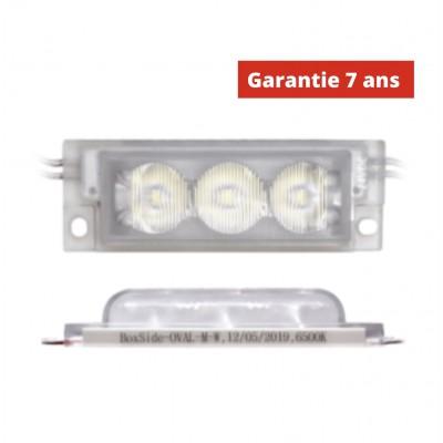 Chaîne de 40 modules LED 3W/module  Blanc 6500k 24V IP68