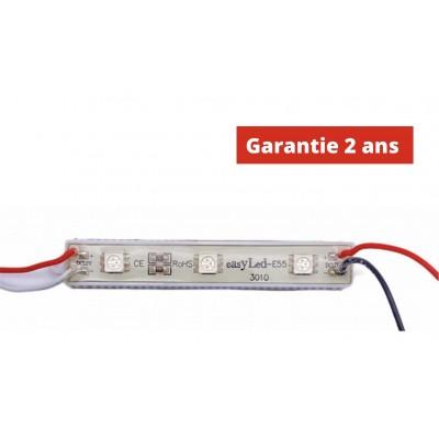 Chaine de 40 modules led RVB 0.72W/module 12V IP65 150°