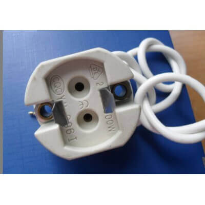 Douille  culot G12 pour lampe CDM-t, Hqi, HCI T