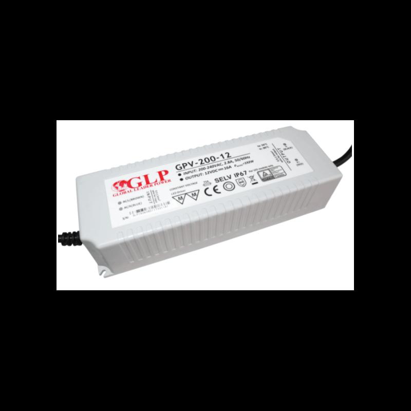 Alimentation LED GLP 200W 12V 16A