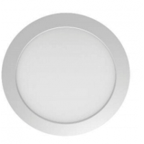 Downlight LED Secom Nuva Eco 18W 4000K blanc froid 1520 lumens IP44 diamètre de perçage 205mm