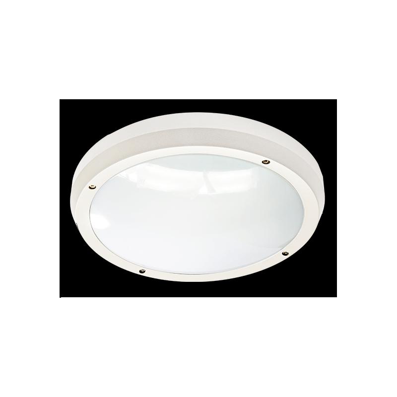 Hublot SOUL Blanc 2*E27 IK10 et IP65 étanche